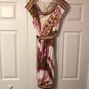 Cute Ice Size 14 Paisley Dress